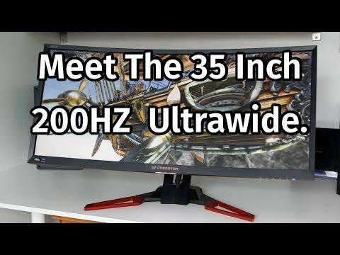 Acer Z35 Predator Monitor Review