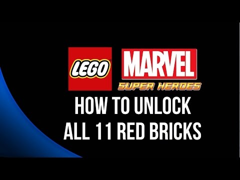 ALL 11 Deadpool Red Bricks guide - LEGO Marvel Super Heroes