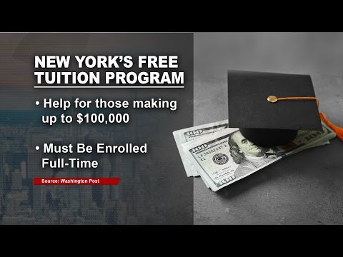 New York Offers Free Tuition At Four-Year Colleges And Universities