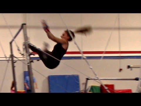 Toe Shoot/Hect Gymnastics Tutorial With Coach Meggin!