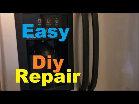 Ice and Water dispenser not working - DIY Repair