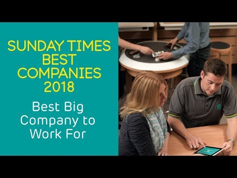 EE - The Sunday Times - Best Big Company to Work For 2018