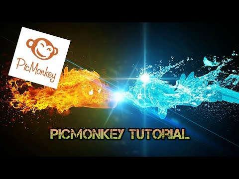 HOW TO CREATE A CHANNEL ART FOR YOUR YOUTUBE CHANNEL Using Picmonkey