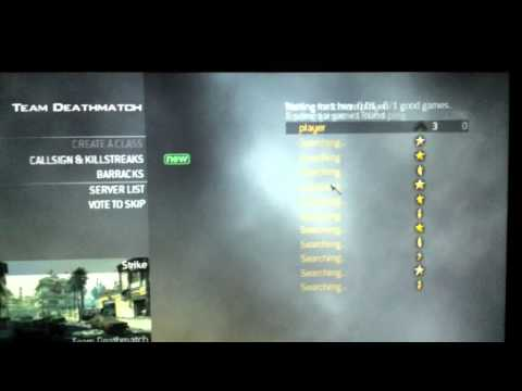 How to do LAN in MW2