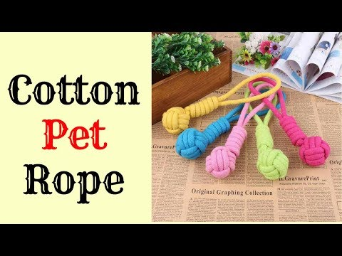 Cotton Pet rope