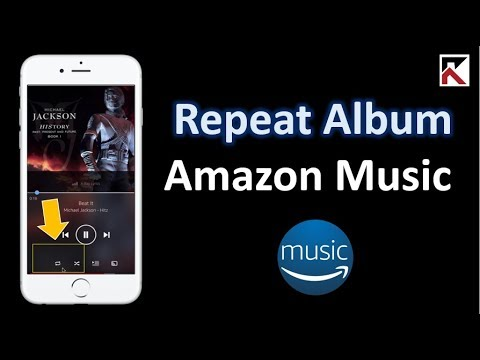 How To Repeat Album Amazon Music