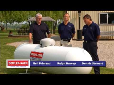 Dowler-Karn Propane FAQ: What is part of a propane tank installation?