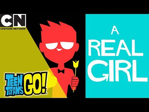 Teen Titans Go! | Date With a Real Girl | Cartoon Network