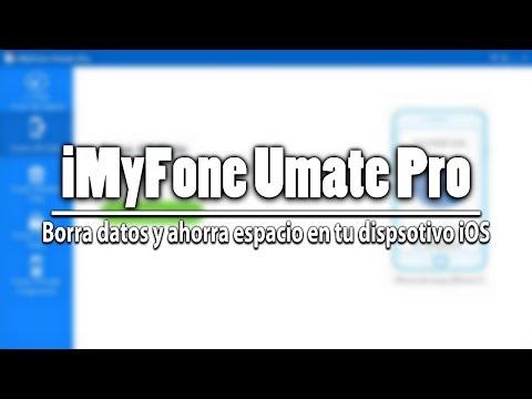 iMyFone Umate Pro    Limpia y libera espacio de tu dispositivo iOS