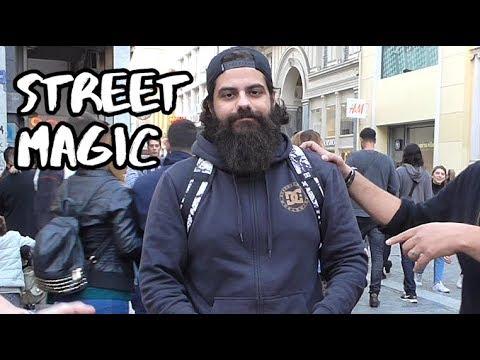Street Magic στο κέντρο της Αθήνας