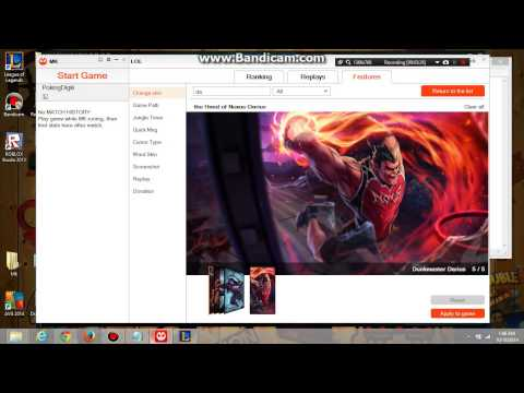 How to get free skin in league of legend 2015 ( 100% work )
