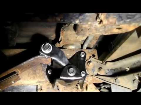 How to Change the Rear Spring Hanger on a Ford Bronco