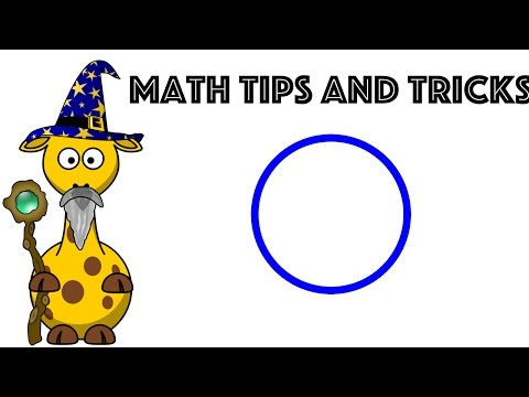 How to find the Perimeter or Circumference of a Circle : A great mnemonic for kids