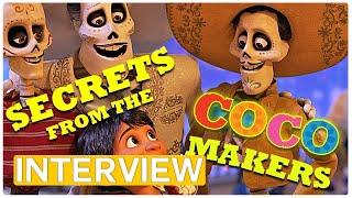 Coco | Meet the Pixar Makers! exclusive Interview