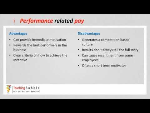 VCE Business Management - Motivations Strategies pt1