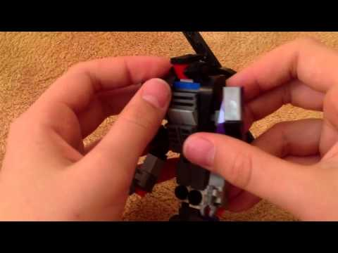 Lego Transformers Custom ROTF Blackout Review.