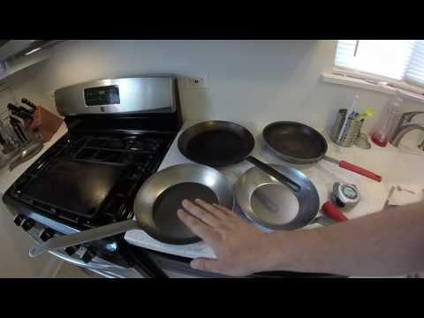 Lodge carbon steel pans vs Vollrath review