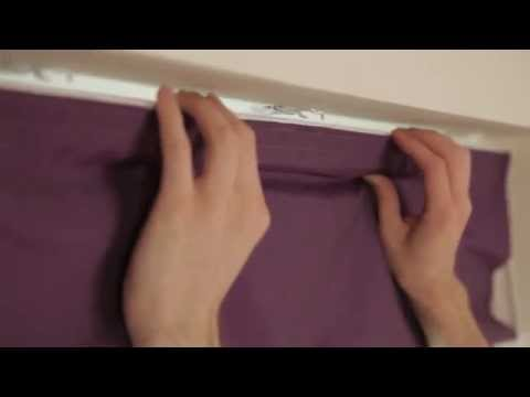 How to Fit a Swing Bracket Roman Blind | Roman Blinds Direct