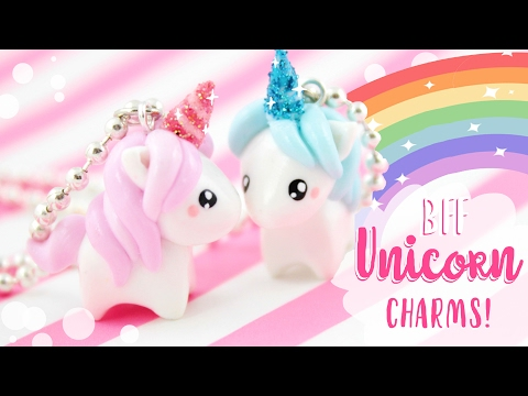 ♡ BFF Unicorn DIY Charms! ♡ | Kawaii Friday