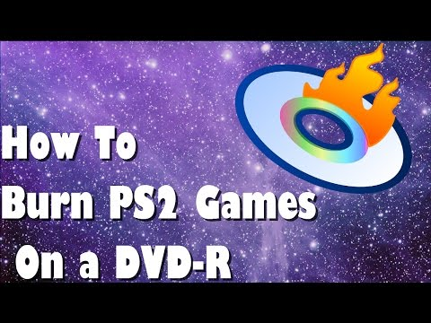 How to BURN PlayStation 2 Games on a DVD-R Disc
