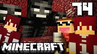 ISAN & JONO MELAWAN WITHER BOSS !!! - Minecraft Survival Indonesia #74