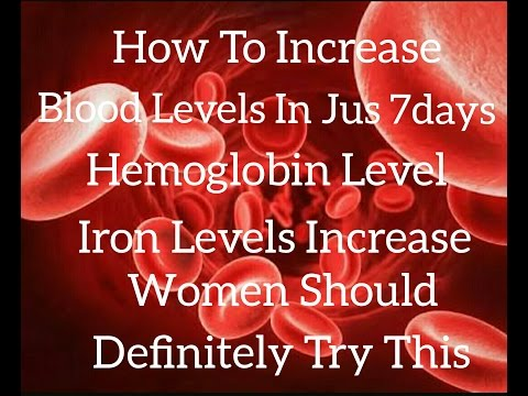 How to increase blood levels in jus 7 Days,platelets count in blood,Hemoglobin with English subtitle