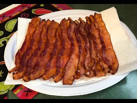 Air Fryer Bacon (12QT Cooks Essentials)