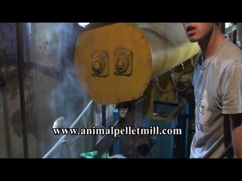 how to make Aquatic feed pellets/fish feed extruder machine manufacture