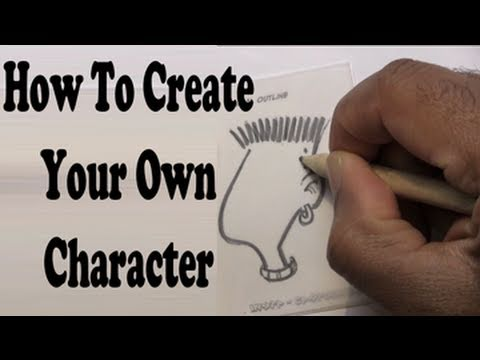 How To Create A Cartoon Character