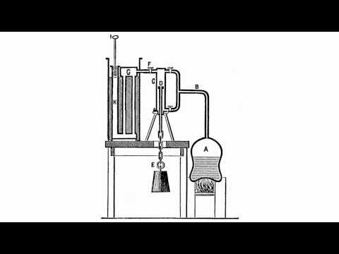 Watt's Experimental Apparatus