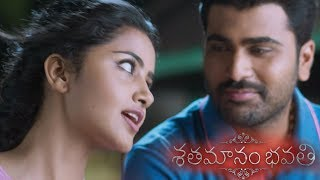 Sharwanand asks praveen to cut cable tv connection - Shathamanam Bhavathi