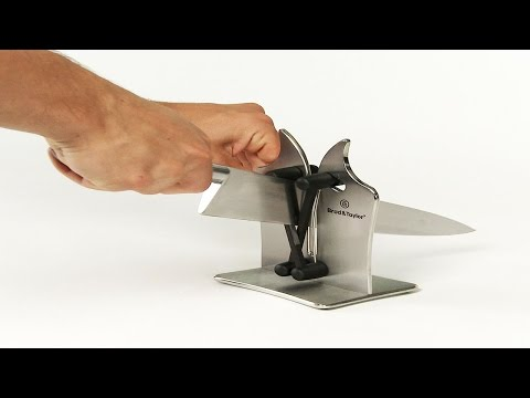 Best Kitchen Knife Sharpener - Smooth/Serrated Knife Sharpening System