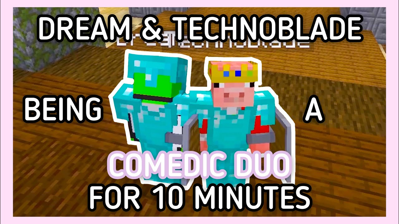 Dream and Technoblade Being a Comedic Duo for 10 Minutes