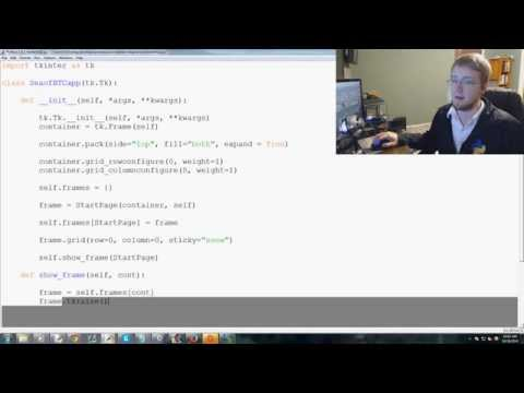 Object Oriented Programming Crash course with Python 3 - Tkinter tutorial Python 3.4  p. 2