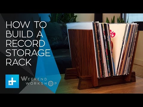 Weekend Workshop Episode 9 - How To Build A Record Storage Rack