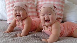 TRY NOT TO LAUGH Cutest Twin Babies LAUGH and PLAYING Together 😸😸 Funny Babies