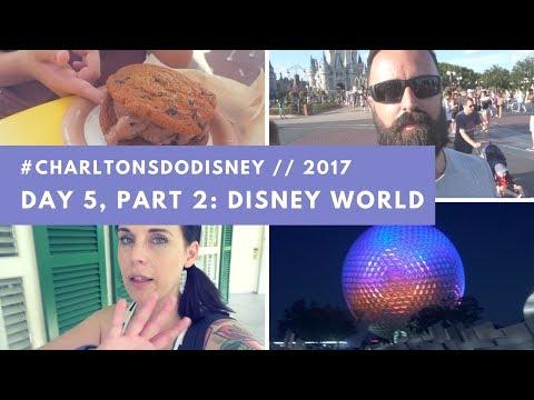 CharltonsDoDisney Orlando 2017 Day 5 (Part 2) - Port Orleans Riverside & Epcot