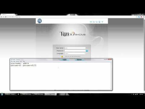 HOW to change b593 router/modem password