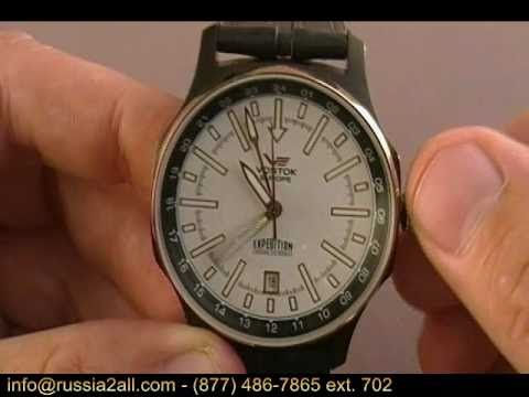 How to Change the Date on a Russian Wristwatch