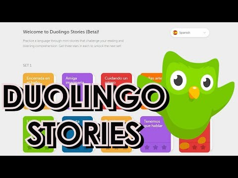 Learn Languages through story on Duolingo | Review (video in English, Eng Subtitles)