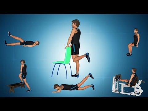 Exercises for Knee Sprain