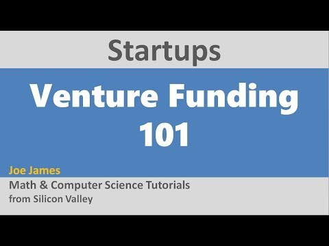 Silicon Valley Startup VC Funding 101