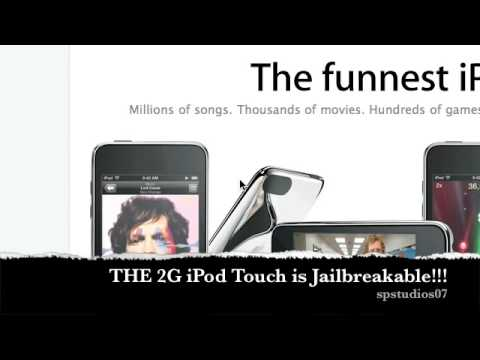iTouch 2G is jailbreakable!