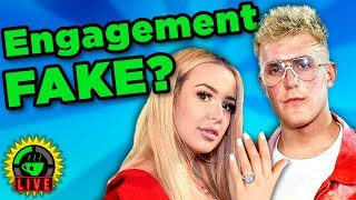 Download GTeaLive: Is the Jake Paul and Tana Mongeau Engagement FAKE? Video