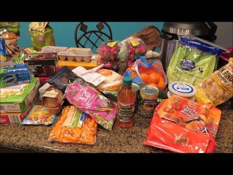 Grocery Haul March 11th | Walmart & Aldis