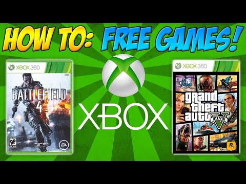 How to get free games on XBOX 360]