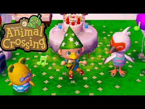 Animal Crossing: New Leaf - New Leaf Bird-day Party! Gameplay Walkthrough Ep.93 Nintendo 3DS