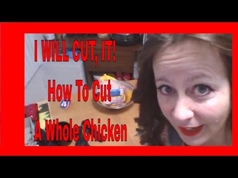 DIY How To Cut Up Chicken For Meals | Cutting a Whole Chicken