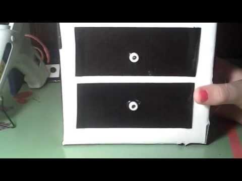 How to Make Doll Things:Dresser,Coat Rack,Tissue Box,etc.