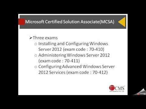 MCSA basic information